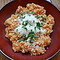 risotto  la <b>tomate</b>