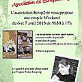 Les ateliers scrap' en Rhône alpes