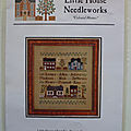 BROCANTE FICHES LHN LITTLE HOUSE NEEDLEWORK - DEAR DIARY - COUNTRY COTTAGE NEEDLEWORK