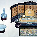 Guwan tu '<b>Pictures</b> of Ancient Playthings', 1728, Yongzheng reign, Qing dynasty