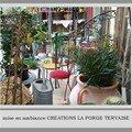 FERRONNERIE D'ART LA FORGE TERVAISE-PORTAILS-RAMPES-TABLES-CHAISES-DECO ETC