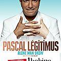 """Pascal Légitimus : """"Je n'ai pas à me plaindre : franchement, quel beau métier..."""""""