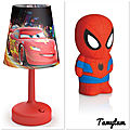 ✨ Pour mon petit garçon : 2 lampes PHILIPS DISNEY a recevoir ✨