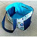 DIY : Un sac pour transporter mon repas...