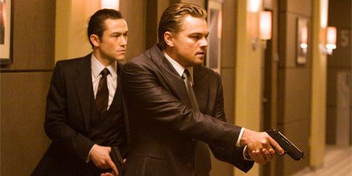 Joseph Gordon-Levitt et Leonardo DiCaprio