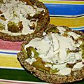 Tartelettes Aux Brocolis - Pâte aux Graines & Sauce <b>Tahin</b>