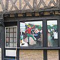 Le Mans Sarthe fresque