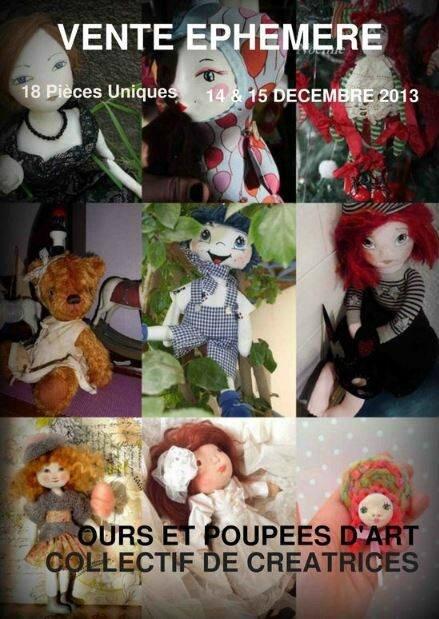 Expo virtuelle ours et poupées