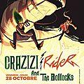 Zizi Rider + Crazy Dolls & The Bollocks, Bordeaux, Le Bootleg, 2016.10.28