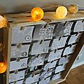 DIY calendrier de l'Avent « light » avec des photos à découvrir !