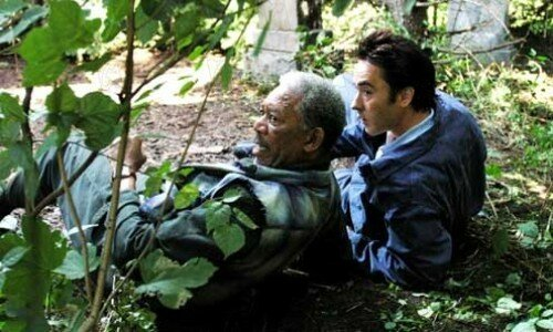 John Cusack et Morgan Freeman
