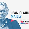 DIMANCHE EN <b>POLITIQUE</b> SUR FRANCE 3 N°40 : JEAN-CLAUDE MAILLY