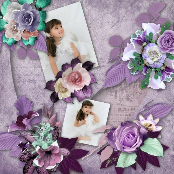 Talou t2 pack 2 - kit Desclics et Josy Shabby Dreams - photo Nounou - flomelle -