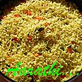 Thenga-pal Sadam / Coconut Milk <b>Rice</b> - Tamilnadu Special
