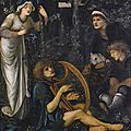 Sir Edward Coley Burne-Jones, Bt., A.R.A., R.W.S, The Madness of Sir Tristram