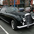 Bentley <b>Continental</b> Mulliner Park Ward fastback coupe-1958