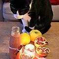 Jus de fruits aux épices