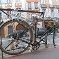 Un vélo à Toulouse