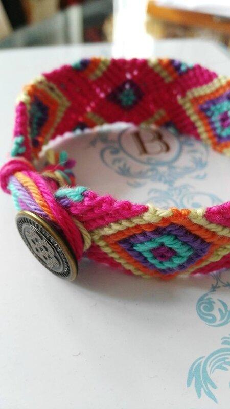 Le retour des bracelets brésiliens