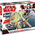 POE'S BOOSTED X-WING FIGHTER REVELL
