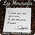 <b>Mercredi</b> Gourmand #101
