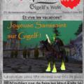 Le Crépusculaire ~ Gigels Wow's Paper