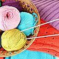 nos créations en tricot
