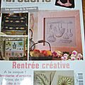 Magazine <b>ouvrages</b> broderie N°72