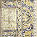 Two great Persian illustrated manuscripts for sale at Bonhams in London