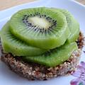 Tartelettes crues au kiwi (véganes, sans gluten)