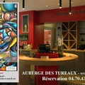 Exposition peinture d'Agnès Berlingieri - <b>Auberge</b> des Tureaux jusqu'au 2 avril 2015