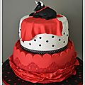 <b>Gâteau</b> thème Sevillana pour une belle fête!