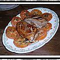 Magrets de <b>canard</b> au miel et au vinaigre balsamique