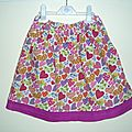 jupette de fille / girlies skirt