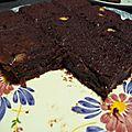 <b>BROWNIES</b> CHOCOLAT - CARAMEL BEURRE SALE