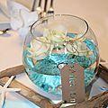 <b>Décoration</b> <b>Mariage</b> D et S ~~ Théme voyage/ mer ~~ couleur bleu et blanc