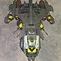 Fire Raptor Gunship Iron <b>Warrior</b> terminé !!!