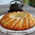 Escapade en cuisine d'août - Cake citron et graines de pavot