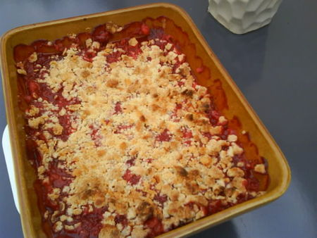recettes  Pate  crumble dukan