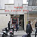 <b>MARCHE</b> DES ENFANTS ROUGES