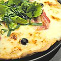 Pizza aux 3 <b>fromages</b>