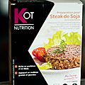 STEAK DE SOJA (KOT INNOVATION et NUTRITION) 4 MISS/5