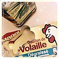 Friandises au Bouillon de <b>Volaille</b>...