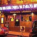 Le <b>Karma</b>, un restaurant où vous vous régalerez !