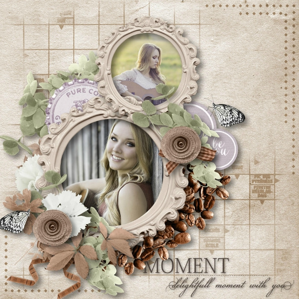 Talou - template 17-2 - kit Morning Smile de Mooscrap - photo Pixabay