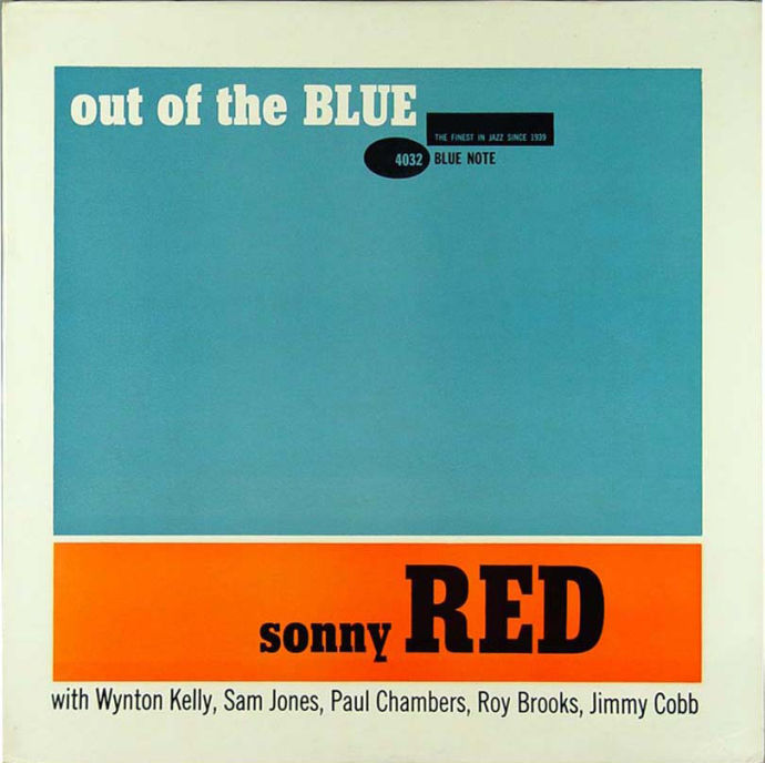 sonny red - out of the blue (sleeve art)