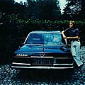Bonhams to offer the legendary Mercedes-Benz in which pop star <b>Claude</b> <b>François</b> escaped death