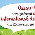 Le <b>salon</b> de <b>l</b>'<b>agriculture</b> avec Ossau Iraty #concours