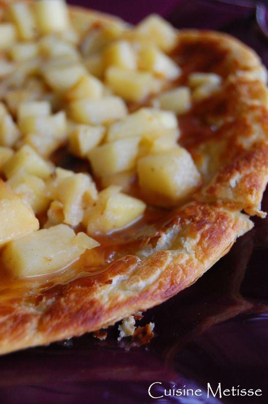 tarte aux pommes au sirop d 233 rable sans four recette