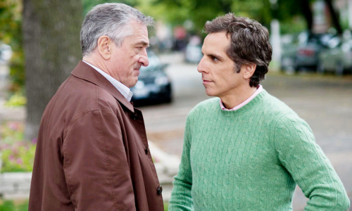 Robert De Niro et Ben Stiller dans Little Fockers